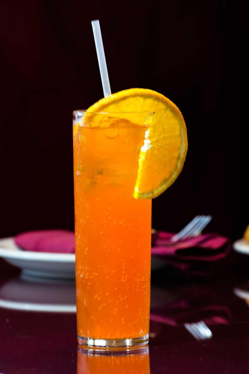Signature juice at TAJ  Indian Restaurant YAKIMA.